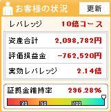 20111231週間収支