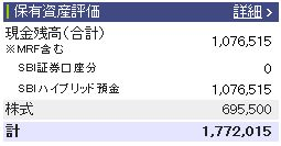 2011030週間収支