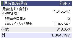 20120331週間収支