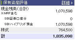 20110521週間収支