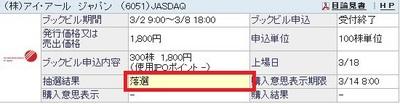 アイ・アール ジャパン (6051)