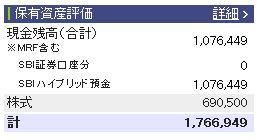 20111009週間収支