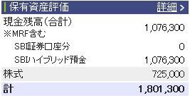 20110806週間収支