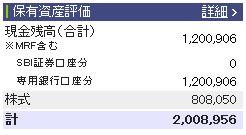 20110219週間収支