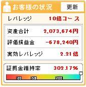2011016週間収支