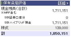 20110319週間収支